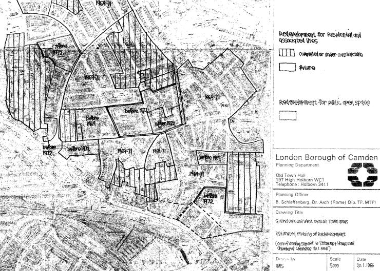 Proposed redevlopment 1966